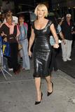 Ellen Barkin Late Show arrivals
