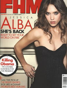 Jessica Alba sexy uncovered FHM