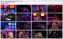 Christina Aguilera - Pitbull - The Voice-HD720p (Camio) 18/06/13