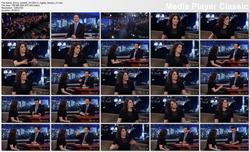 Nigella Lawson @ Jimmy Kimmel Live 2013-02-13