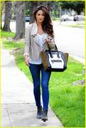 Shay Mitchell out and about in Los Angeles - March 18, 2013