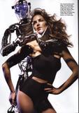 Cindy Crawford at age 43 in Allure Magazine Foto 319 (Синди Кроуфорд в возрасте 43 в журнале Allure Фото 319)