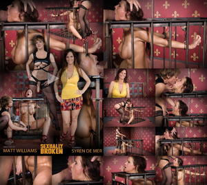SEXUALLY BROKEN: May 30, 2016: Hot Cougar brutal fucked by MILF and Daddy! Throat fucked and made to cum over and over!  | Syren De Mer | Dee Williams | Matt Williams