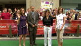 Chris Jansing, Tracy Smith, Susan McGinnis - CBS & NBC - Leggy - HDTV VideoClip